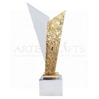 Γλυπτό - Βραβείο Δίχρωμο Μοντέρνο, επιχειρηματικά βραβεία, δώρα για βράβευση, μοντερνα βραβεία, ιδέες για βραβεία, δώρα βραβεύσης, αναμνηστικά βραβεία, τιμητικά βραβεία, award, awards, business gifts, corporate awards,
