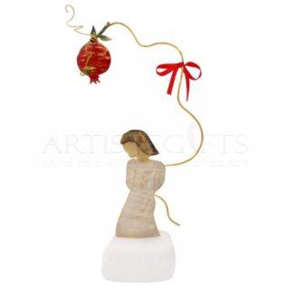 Κορίτσι Με Ρόδι, δώρο για δασκάλα, δώρο για γονείς, δώρο για μητέρα, δώρα για εγκαίνια, γούρια, γούρια με ρόδι, δώρα για καλή τύχη, γούρια με ευχές, χριστουγεννιάτικα δώρα, πρωτοχρονιάτικα δώρα, πρωτότυπα γούρια, ιδέες για γούρια, ρόδι, ρόδια, ροδιά, δώρα ευχαριστίας