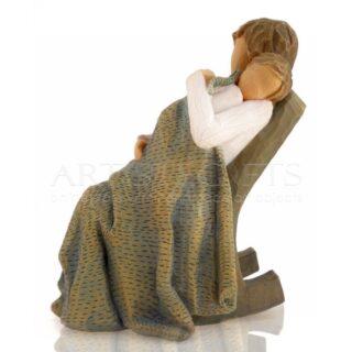 Μητέρα Που Κοιμίζει Νανουρίζει Το Μωρό Της