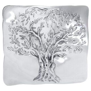 Πιατέλα Με Ανάγλυφο Δέντρο Ελιάς