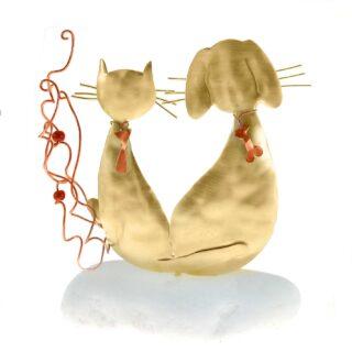 Σαν τον Σκύλο και την Γάτα, δώρα για κτηνίατρο, κτηνιάτρους, δώρα για εγκαίνια κτηνιατρείου, δώρα για φιλόζωους, γάτα, σκύλος, γάτες, σκύλοι, γατόφιλοι, δώρα με κατοικίδια,