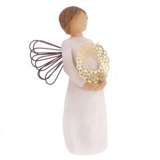 Άγγελος Έχεις Μια Υπέροχη Καρδιά, άγγελος, άγγελοι, άγγελος με φτερά, άγγελος με συρμάτινα φτερά, δώρα ευχαριστίας, δώρα για καλή τύχη, καρδιές, άγγελος με καρδιά