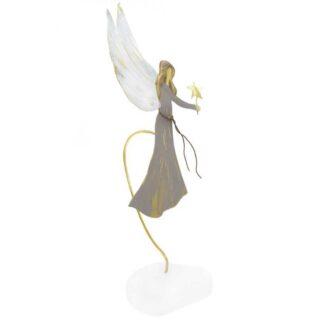 Άγγελος Με Λευκά Φτερά και Αστέρι