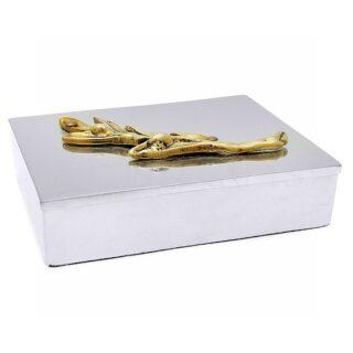 Αποθηκευτικό Κουτί με Διακοσμητικό Κλαδί Ελιάς Γίγας