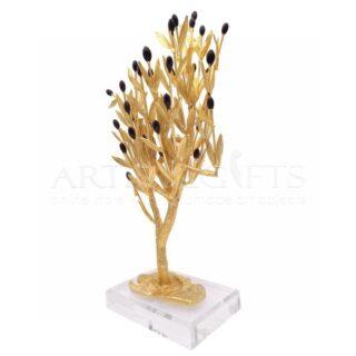 Δέντρο Ελιάς Πλούσιο Με Φύλλα, Καρπούς και Παρακλάδια