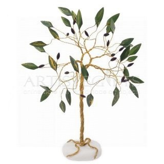 Ελιά Από Ορείχαλκο Πλούσια Με Πράσινα Φύλλα, δέντρα, δέντρο ελιάς, βραβεία, αναμνηστικά δώρα με ελιά, δώρα συνταξιοδότησης, δώρα γάμου, δώρα για κουμπάρους, elia, dentro elia, βραβεία, δώρα με ελιές, επιχειρηματικά δώρα, ελληνικά δώρα, πρωτότυπα χειροποίητα δέντρα, olive tree, olive