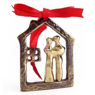 Αφαιρετικό Ζευγάρι Μέσα Σε Περίγραμμα Σπιτιού Mix, δώρα για ζευγάρι, δώρα για επέτειο, δώρα για αρραβώνα, δώρο για ζευγάρι, χειροποίητα δώρα για ζευγάρι, ιδέες δώρων για ζευγάρια, πρωτότυπα δώρα για ζευγάρια