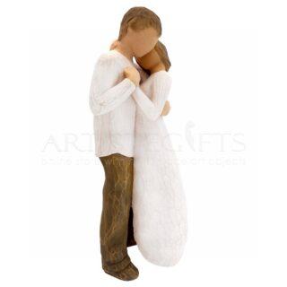 Ζευγάρι Όρθιο Αγκαλιασμένο, δώρα για ζευγάρι, ζευγάρια, δώρα για επέτειο, επετειακά δώρα, δώρα γάμου, δώρα αρραβώνα, γλυπτά, γλυπτό, χειροποίητα διακοσμητικά δώρα, δώρα για νέο σπίτι, προσωποποιημένα δώρα, δώρα για κουμπάρους, δώρα για γονείς