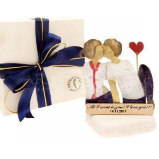 Ζευγάρι Με Τζιν και Κόκκινη Καρδιά, δώρα για ζευγάρι, δώρα για επέτειο, δώρα για γάμο, προσωποποιημένα δώρα, επέτειος γάμου, δώρα με μήνυμα, δώρα αρραβώνα, ιδέες δώρων για ζευγάρι, ζευγάρια, δώρα για νέο σπίτι, δώρα για παντρεμένο ζευγάρι, πρωτότυπα δώρα για ζευγάρια, δώρα για φίλους, δώρα για φιλικό ζευγάρι, 1