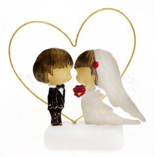 Γαμπρός και Νύφη σε Περίγραμμα Καρδιάς, δώρα για γάμο, δώρα γάμου, γαμήλια δώρα, δώρα για νιόπαντρα ζευγάρια, δώρα για αρραβώνα, ιδέες για πρωτότυπα δώρα για ζευγάρια, δώρα για επέτειο, δώρα για παντρεμένα ζευγάρια, δώρα για ερωτευμένους, δώρα για φιλικά ζευγάρια, δώρο για τον αγαπημένο μου, προσωποποιημένα δώρα για ζευγάρια,
