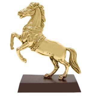 Γλυπτό Άλογο Όρθιο Σε Βάση