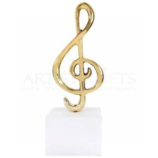 Γλυπτό Κλειδί του Σολ Σε Βάση Από Μάρμαρο, Γλυπτά, δώρα για μουσικό, δώρα για δασκάλα μουσικής, δώρα για μουσικούς, δώρα για τραγουδιστή, ιδέες δώρων για εγκαίνια, δώρα για ωδείο, μουσικά βραβεία, καθηγήτρια μουσικής, δώρα για καθηγητή μουσικής, μουσική, δώρα με μουσική, δώρα για συναυλία, δώρα σε τραγουδίστρια,