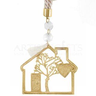 Γούρι Με Σπίτι, Καρδιά, Δέντρο Ζωής, Κρύσταλλα, δώρα γάμου, δώρα για νέο σπίτι, γούρια, γούρι, σπίτι, δέντρο ζωής, δώρα για καλή τύχη, καρδιά, δώρα για ζευγάρι, δώρα για παντρεμένο ζευγάρι, δώρα για γονείς, χριστουγεννιάτικα δώρα