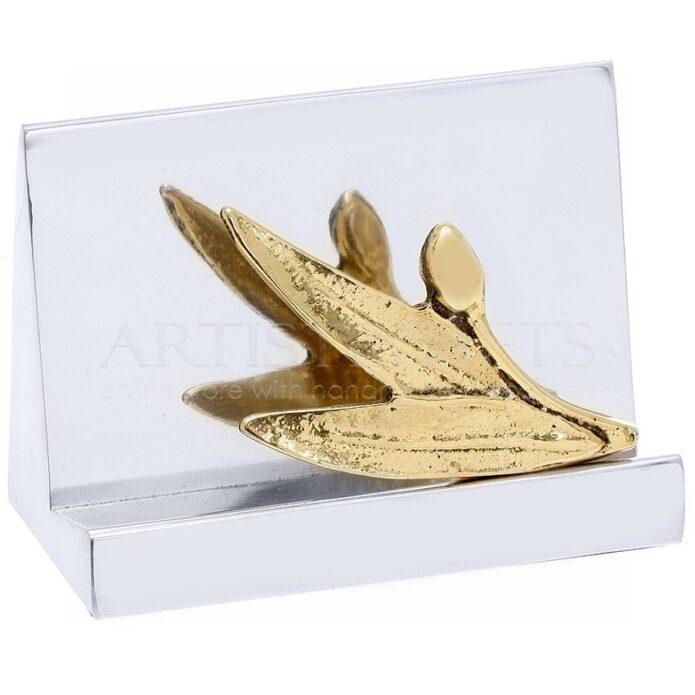 Καρτελοθήκη Τρίγωνη Κλαδί Ελιάς, επιχειρηματικά δώρα, καρτελοθήκη, καρτοθήκη, ελιά, κλαδί ελιάς, olive, δώρα για το γραφείο, δώρα για εγκαίνια, προσωποποιημένα δώρα, δώρα για συνεργάτες, δώρα για πελάτες