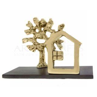 Καρτελοθήκη Σπίτι Μικρό Δέντρο, μεταλλική καρτελοθήκη γραφείου, καρτελοθήκη, καρτοθήκη, σπίτι, δέντρο, δώρα για γραφείο, χειροποίητα δώρα, δώρα για εγκαίνια, προσωποποιημένα δώρα, δώρα για αρχιτέκτονα, δώρα για πολιτικό μηχανικό, δώρα για νέο γραφείο, δώρα σε φίλη, δώρα για φίλο