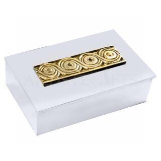 Αποθηκευτικό Κουτί Με Καπάκι και Αρχαϊκό Διακοσμητικό, μουσειακά αντίγραφα, κουτί, μεταλλικά κουτιά, δώρα για το γραφείο, δώρα για συνεργάτες, ελληνικά δώρα, επιχειρηματικά δώρα, είδη γραφείου, κουτιά, ιστορικά δώρα, επιχειρηματικά δώρα, δώρα για συνάδελφο, δώρα για συνεργάτες, δώρα για επιχειρηματία, δώρα για αρχιτέκτονα, δώρα για πολιτικό μηχανικό, αναμνηστικά δώρα, συνεδριακά δώρα,
