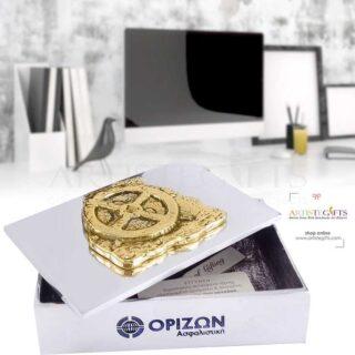 Κουτί Με Διακοσμητικό Μηχανισμός Αντικυθήρων, μηχανισμός αντικυθήρων, μουσειακά αντίγραφα, κουτί, μεταλλικά κουτιά, δώρα για το γραφείο, δώρα για συνεργάτες, ελληνικά δώρα, 3