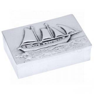 μεταλλικό κουτί, κουτιά, ιστιοφόρο, καράβι, καράβι με πανιά, επιχειρηματικά δώρα, αναμνηστικά δώρα, ναυτικά δώρα 1