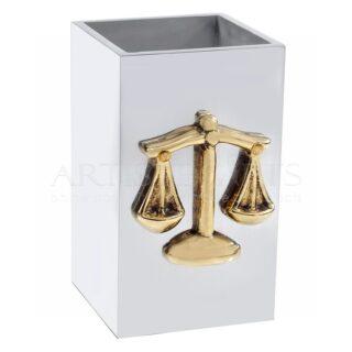 Μολυβοθήκη Σύμβολο Δικαιοσύνης, Ζυγαριά, δώρα για δικηγόρους, δώρο για δικηγόρο, δώρα για δικηγορίνα, δώρα για απόφοιτο νομικής, δώρα για ορκωτό λογιστή, δώρα για νομικό σύμβουλο, νομική σχολή, δώρα για νομικούς συμβούλους, δώρα για εγκαίνια δικηγορικού γραφείου, επιχειρηματικά δώρα, δώρα για γιορτή, δώρα για γενέθλια, δώρα ευχαριστίας σε δικηγόρο, ζυγαριά, ζυγός, σήμα νομικής
