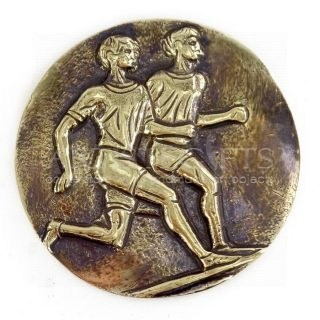 Μεγάλο Νόμισμα Δρομείς Με Δυο Δρομείς, αρχαία νομίσματα, δρομείς, δρομέας, αναμνηστικά δώρα, δώρα για αθλητές, δώρα για γυμναστές, δώρα για προπονητές, δώρα για εγκαίνια γυμναστηρίου, δώρα για personal trainer, δώρα για ποδοσφαιριστές, αρχαία νομίσματα, ελληνικά δώρα,