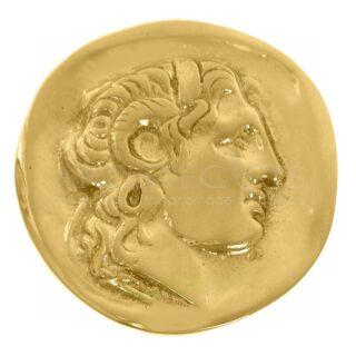 Μεγάλο Νόμισμα Μεγάλος Αλέξανδρος, Μέγας Αλέξανδρος, νόμισμα, νόμισμα με πρόσωπο μέγα Αλέξανδρου, ελληνικά δώρα, αναμνηστικά δώρα, επιχειρηματικά δώρα, πρες παπιέ, μουσειακά αντίγραφα