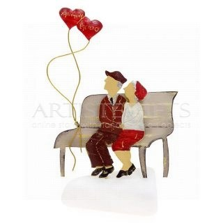 Παππούς, Γιαγιά Σε Παγκάκι με Καρδιά Χαρούμενη Επέτειο, δώρα για επέτειο γάμου, δώρα για επέτειο σχέσης, δώρα για επέτειο γάμου σε άνδρα, δώρα για επέτειο σε άντρα, δώρο για επέτειο σε γυναίκα, ηλικιωμένοι, δώρα για ηλικιωμένους, ιδέες για δώρα επέτειο, πρωτότυπα δώρα για επέτειο, ευχές για επέτειο, δώρα για φιλικό ζευγάρι, χειροποίητα δώρα για επέτειο, δώρα για επετείους