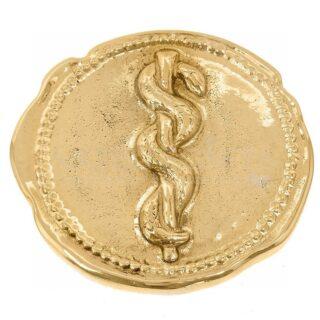 Ακανόνιστο Νόμισμα με Ιατρικό Σύμβολο Φίδι, Κουτί Με Ιατρικό Σύμβολο, Φίδι και Ράβδος, δώρα για γιατρό, δώρα για ιατρικό συνέδριο, ιατρικά δώρα, δώρα για συνέδρια, ιατρό, γιατρούς, δώρα για απόφοιτο ιατρικής, δώρα για πτυχιούχο, σύμβολο ιατρικής, είδη γραφείου, προσωποποιημένα δώρα, δώρα για εγκαίνια, δώρα ευχαριστίας σε γιατρό, αναμνηστικά δώρα για γιατρό, δώρα για εγκαίνια ιατρείου,