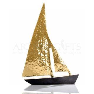 Ιστιοφόρο Με Σφυρήλατα Ορειχάλκινα Πανιά, καράβια, καράβι, ναυτικά δώρα, ναυτιλιακά δώρα, δώρα για μαρίνα, δώρα για καπετάνιο, δώρα με καράβια, επιχειρηματικά δώρα, εταιρικά δώρα, επαγγελματικά δώρα, δώρα ευχαριστίας,, δώρα συνταξιοδότησης, δώρα για γραφείο, δώρα γάμου, δώρα για φίλους, δώρα για ζευγάρι,