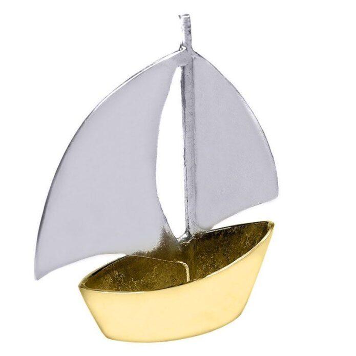 Χειροποίητο Μεγάλο Καράβι με Φουσκωτά Πανιά