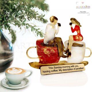 Ζευγάρι Καθισμένο Σε Μεγάλα Φλιτζάνια Του Καφέ, δώρα για ζευγάρι, δώρα για επέτειο, δώρα για γάμο, προσωποποιημένα δώρα, επέτειος γάμου, δώρα με μήνυμα, δώρα αρραβώνα, ιδέες δώρων για ζευγάρι, ζευγάρια, δώρα για νέο σπίτι, δώρα για παντρεμένο ζευγάρι, πρωτότυπα δώρα για ζευγάρια, δώρα για φίλους, δώρα για φιλικό ζευγάρι, 1