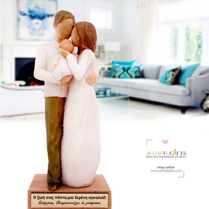 δώρα για νέους γονείς, ζευγάρι με μωρό, δώρα βάπτισης, δώρα για επέτειο, δώρα για ζευγάρι, ζευγάρι με νεογέννητο, δώρα για ζευγάρια, προσωποποιημένα δώρα, ιδέες δώρων για γονείς, δώρα γάμου βάπτισης