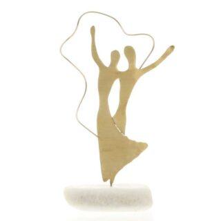 Ζευγάρι Χορευτές Σε Μάρμαρο