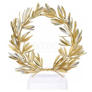 Στεφάνι Ελιάς Πλούσιο Με Καρπούς Μix Σε Πλέξι Βάση, στεφάνι ελιάς, ελιά, δέντρο ελιάς, κλαδί ελιάς, δώρα γάμου, δώρα για γιατρό, δώρα γάμου, βραβεία, βραβείο, δώρα για εγκαίνια, επιχειρηματικά δώρα, olive tree, awards, αληθινό στεφάνι ελιάς