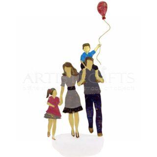 Ζευγάρι - Γονείς, Με Αγόρι, Κορίτσι Και Μπαλόνι, δώρα για ζευγάρι, δώρα για ζευγάρι με παιδιά, δώρα για γονείς. δώρα για γιορτή μητέρας, δώρα για γιορτή πατέρα, δώρα για επέτειο γάμου, δώρα για γονείς, δώρα για οικογένεια, πρωτότυπα δώρα για γονείς, ιδέες δώρων για ζευγάρια με παιδιά