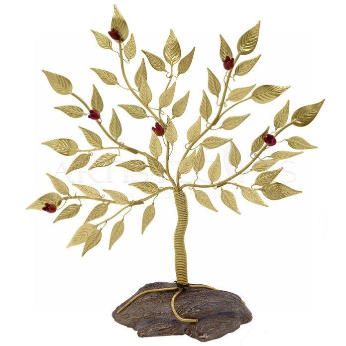 Μεγάλο Δέντρο Ζωής - Ροδιά Σε Βράχο, δέντρο ροδιάς, ροδιά, ρόδια, γούρια με ρόδια, δώρα γάμου, δέντρο ζωής, δώρα για αρραβώνα, δώρα για εγκαίνια, δώρα για νέο σπίτι, δώρα ευχαριστίας, δώρα για γιατρό, χριστουγεννιάτικα δώρα, χριστούγεννα, πρωτοχρονιά, προσωποποιημένα δώρα, δώρα με ευχές, rodia, dentro, dentra, δέντρα, δώρα με δέντρα