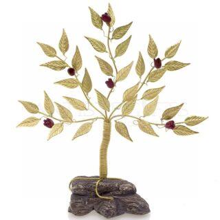 Μικρό Δέντρο Ζωής - Ροδιά Σε Βράχο, δέντρο ροδιάς, ροδιά, γούρια με ρόδια, δώρα γάμου, δώρα για αρραβώνα, ρόδι, rodia, δώρα για εγκαίνια, δώρα ευχαριστίας, δώρα για γιατρό, χριστουγεννιάτικα δώρα, χριστούγεννα, πρωτοχρονιά, προσωποποιημένα δώρα, δώρα με ευχές, rodia, dentro, dentra, δέντρα, δώρα με δέντρα, βραβεια, δέντρα ζωής,
