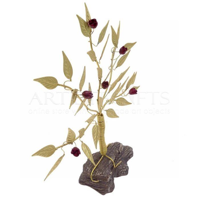 Μικρό Δέντρο Ζωής - Ροδιά Σε Βράχο