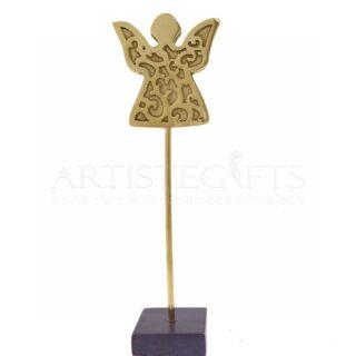 Άγγελος Με Σχέδια σε Οξειδωμένη Βάση, άγγελος, άγγελοι, διακοσμητικά με άγγελο, γούρια, γούρια με άγγελο, δώρα για γιατρό, δώρα για νεογέννητο, πρωτότυπα χειροποίητα γούρια