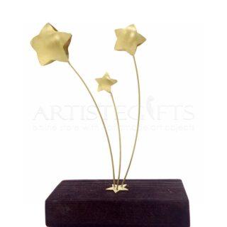 Καρτελοθήκη ή Επιτραπέζιο Διακοσμητικό Αστέρια, αστέρι, αστέρια, καρτελοθήκη, διακοσμητικό με αστέρια, δώρα με αστέρια, είδη γραφείου, προσωποποιημένα δώρα, επιχειρηματικά δώρα, δώρα για εγκαίνια, 1