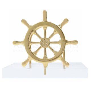 Καρτελοθήκη Με Τιμόνι Πλοίου Σε Βάση Πλέξιγκλας, ναυτικά δώρα, τιμόνι, καρτελοθήκες, ειδη γραφείου, δώρα για συνάδελφο, καράβια, καράβι,