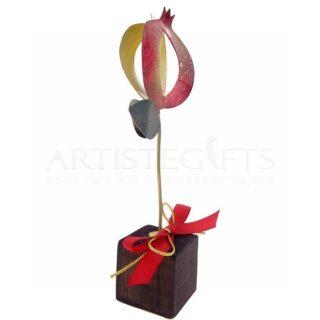 γούρια με ρόδια, ρόδι, ρόδια, δώρα για εγκαίνια, δώρα για νέο σπίτι, δώρα για νέο γραφείο, δώρα για νέο διαμέρισμα, προσωποποιημένα δώρα, δώρα με ευχές, χριστουγεννιάτικα δώρα, δώρα χριστουγέννων, πρωτοχρονιάτικα δώρα, πρωτότυπα χειροποίητα γούρια, γούρια από ορείχαλκο, διακοσμητικά γούρια, κόκκινο ρόδι με φύλλα