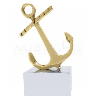 Γυρτή Άγκυρα Από Ορείχαλκο Σε Βάση Από Αλουμίνιο, Άγκυρα, άγκυρες, ναυτικά δώρα, δώρα αναμνηστικά, καραβια, επιχειρηματικά δωρα, εταιρικά δώρα, δώρα συνεδριακά, άγκυρα καραβιού, προσωποποιημένα δώρα, δώρα με λογοτύπηση, nautical gifts, awards, award, business gifts, corporate gifts