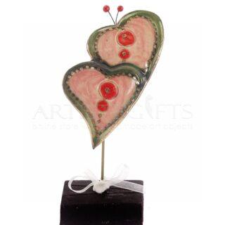 καρδιά, καρδιές, δώρα για ζευγάρια, δώρα για επέτειο, δώρα γάμου, κεραμικές καρδιές, δώρα αγίου βαλεντίνου, γαμήλια δώρα, δώρα για αρραβώνα, 3