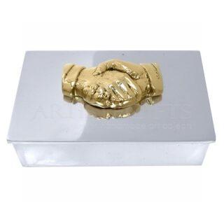 Μεταλλικό κουτί, δώρα για γραφείο, συνεργασία, συμφωνία, χειραψία, χέρια, Δώρα για συνεργάτη, δώρα για πελάτες, δώρα για συνάδελφο, επιχειρηματικά δώρα, εταιρικά δώρα, είδη γραφείου, 1