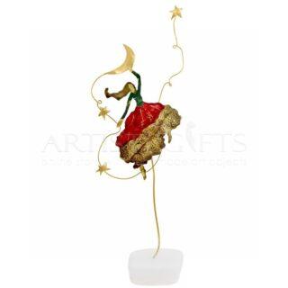 Γυναίκα, Χορός, Φεγγάρι και Αστέρια, δώρα γυναίκα, χορεύτρια, χορός, αστέρια, φεγγάρι, προσωποποιημένα δώρα, δώρα για γυναίκα δώρα για δασκάλα χορού, δώρα με μήνυμα