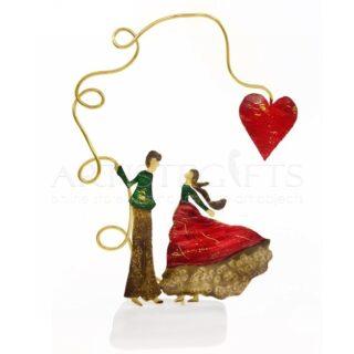Ζευγάρι Αντικριστό Κάτω Από Κόκκινη Καρδιά, δώρα για ζευγάρι, δώρα γάμου, ιδέες δώρων για επέτειο, δώρα γάμου, επετειακά δώρα, προσωποποιημένα δώρα, ιδέες δώρων για ζευγάρι, πρωτότυπα δώρα για ζευγάρι, καρδιά