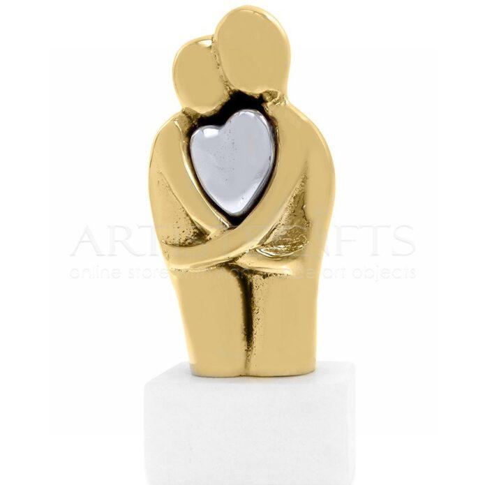Γλυπτό Δυο Σώματα Μια Καρδιά, δώρα για γάμο, δώρα γάμου, γαμήλια δώρα, δώρα για νιόπαντρα ζευγάρια, δώρα για αρραβώνα, ιδέες για πρωτότυπα δώρα για ζευγάρια, δώρα για επέτειο, δώρα για παντρεμένα ζευγάρια, δώρα για ερωτευμένους, δώρα για φιλικά ζευγάρια, δώρο για τον αγαπημένο μου, προσωποποιημένα δώρα για ζευγάρια, δώρα αγίου βαλεντίνου