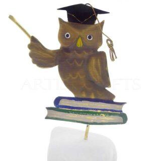 Κουκουβάγια Με Καπέλο Αποφοίτησης, Καθισμένη σε Βιβλία, κουκουβάγια, γλαύκα, κουκουβάγιες, σύμβολο σοφίας, δώρα για εκπαιδευτικούς, δώρα για εγκαίνια, δώρα για φροντιστήριο, δώρα για δασκάλα, δώρα για δασκάλες, δώρα για δάσκαλο, δώρα για δασκάλους, δώρα για εκπαιδευτικούς, δώρα αποφοίτησης, δώρα για πτυχιούχο, koukouvagia, koukouvagies, αναμνηστικά δώρα, 1