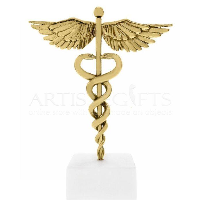 Σύμβολο Ιατρικής, Κηρύκειο Από Ορείχαλκο Σε Μάρμαρο, κηρύκειο, σύμβολο ιατρικής φίδι, δώρα για γιατρό, δώρα για γιατρούς, δώρα για ιατρό, δώρα για ιατρό, ιατρούς, πτυχιούχο ιατρικής, απόφοιτο ιατρικής, πτυχιούχο, ιατρικά δώρα, δώρα σε καρδιολόγο, δώρα σε χειρούργο, δώρα σε παθολόγο, δώρα σε γυναικολόγο, δώρα σε παιδίατρο, επιχειρηματικά δώρα, αναμνηστικά δώρα για γιατρό, δώρα ευχαριστίας για γιατρό, dora gia giatro, δώρα σε γιατρούς
