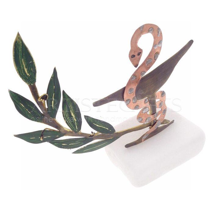 Σύμβολο Φαρμακευτικής Με Κλαδί Ελιάς